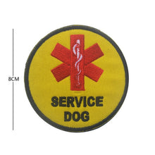 Load image into Gallery viewer, Service Dog Embroidery Patches - Supreme Paw Supply