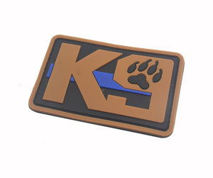 Blue Line Tactical K9 Patches - Supreme Paw Supply