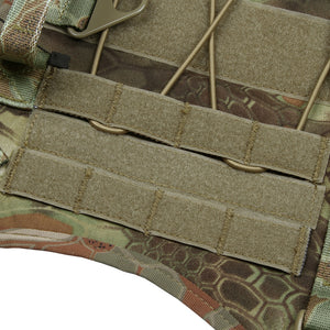 500D 3 Pouch MOLLE Tactical Dog Harness - Supreme Paw Supply