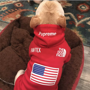 The Dog Face Dog Hoodie - Supreme Paw Supply