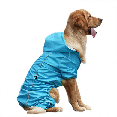 Rain Rebel Dog Coat - Blue - Supreme Paw Supply