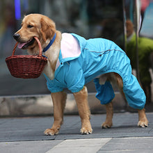 Load image into Gallery viewer, Rain Rebel Dog Coat - Blue - Supreme Paw Supply
