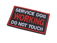 "Load image into Gallery viewer, Service Dog ""Do Not Touch""/""Working Dog"" Patches - Supreme Paw Supply"