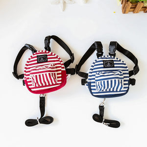 Hampton Striped Backpack - Supreme Paw Supply