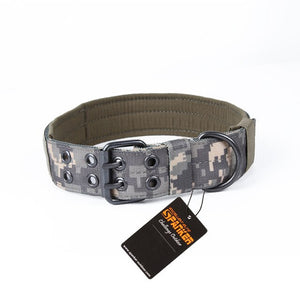 Spanker K9 Tactical Dog Collar - Supreme Paw Supply
