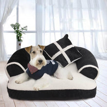 Load image into Gallery viewer, Luxury Quilt Dog Bed - Supreme Paw Supply