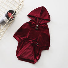 Load image into Gallery viewer, Velvet Dog Hoodie - Supreme Paw Supply