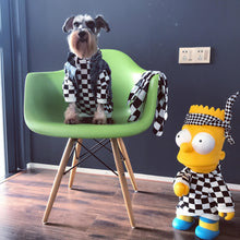 Load image into Gallery viewer, Bathing Pup Checkerboard Dog Hoodie - Supreme Paw Supply