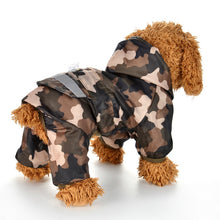 Load image into Gallery viewer, Brooklyn Reflective Dog Rain Coat - Supreme Paw Supply