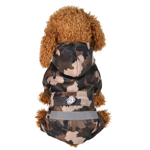 Brooklyn Reflective Dog Rain Coat - Supreme Paw Supply