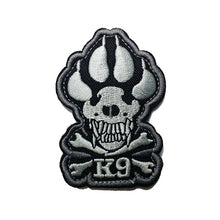 Load image into Gallery viewer, Pawnisher K9 Embroidery Patch - Supreme Paw Supply