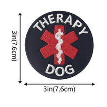 Load image into Gallery viewer, 3D Embroidered Service Dog Patches - Supreme Paw Supply