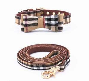 Furberry Dog Leash and Bowtie Collar - Supreme Paw Supply