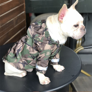 Barking Pup Camouflage Dog Jacket - Supreme Paw Supply