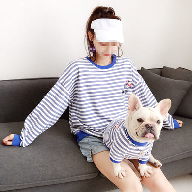 Pinky Striped Sweater - Supreme Paw Supply
