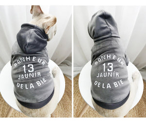 Frenchie XIII Hoodie - Supreme Paw Supply