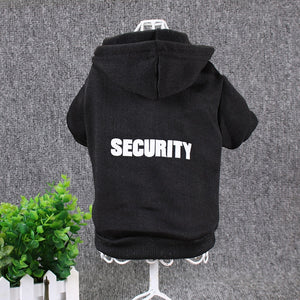 """SECURITY"" Dog Hoodie - Supreme Paw Supply"