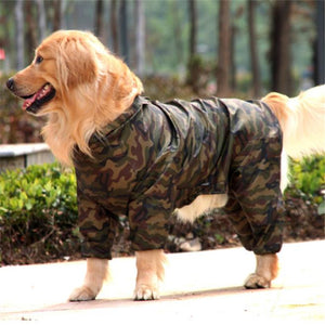 Pawtek Camo Dog Raincoat - Supreme Paw Supply
