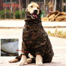 Load image into Gallery viewer, Pawtek Camo Dog Raincoat - Supreme Paw Supply