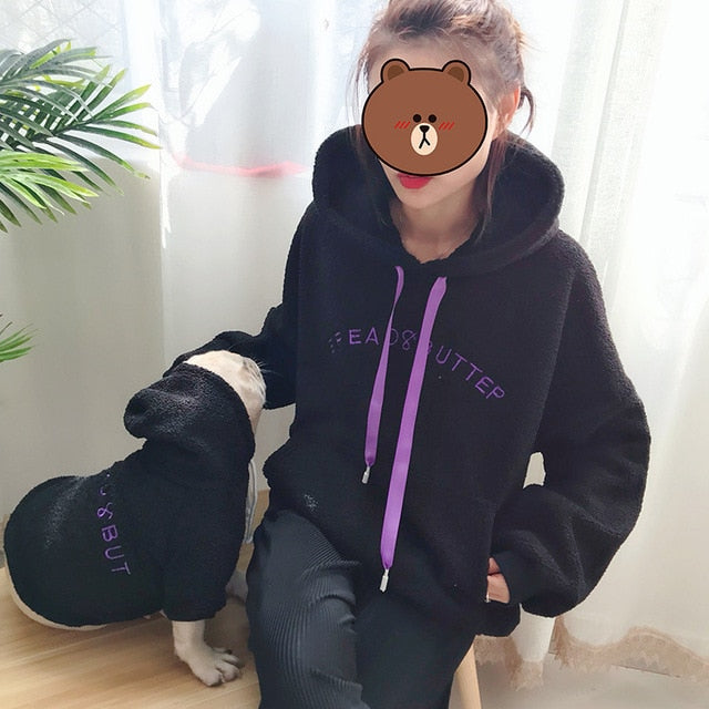 B&B Fleece Hoodie - Supreme Paw Supply