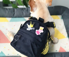 Load image into Gallery viewer, Woof-White Dog Backpack - Supreme Paw Supply