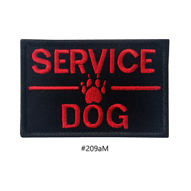 Embroidered Dog Patches - Supreme Paw Supply