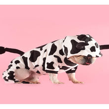Load image into Gallery viewer, Cow Dog Hoodie - Supreme Paw Supply