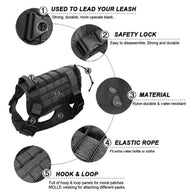 Tactical Dog K9 Harness - Supreme Paw Supply
