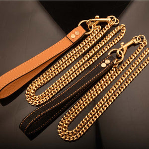 Classic Cuban Link Dog Leash - Supreme Paw Supply