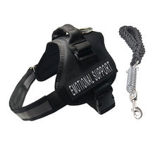Load image into Gallery viewer, Reflective Emotional Support No-Pull Dog Harness & Leash Set - Supreme Paw Supply