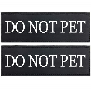 No Pull Dog Harness ID Patches - Supreme Paw Supply