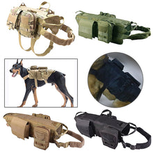 Load image into Gallery viewer, Tactical K9 Dog Harness Bundle - Supreme Paw Supply