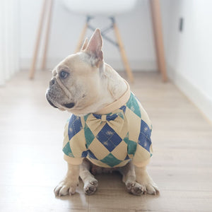Huntley Bow Tie Dog Sweater - Supreme Paw Supply