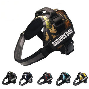 Reflective Service Dog No-Pull Dog Harness - Supreme Paw Supply