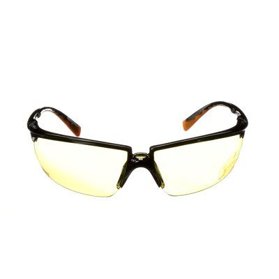 Glasses 3M 12270-00000 Privo Blk Fr/Or Tem Amb Af Lns Stihl