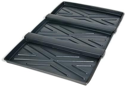 Containment Trays UltraTech 2372 Rack Containment Tray Three Tray System 72 InchX44X2 Inch 3/4