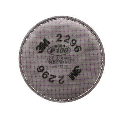 Particulate Filters 3M 2296-P100 Advanced Particulate Filter 2296 P100 With Nuisance Level Acid Gas Relief