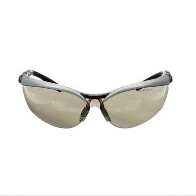 Glasses 3M 11381-00000-20 Bx Protective Eyewear 1138 Grey Anti-Fog Lens Silver/Black Frame