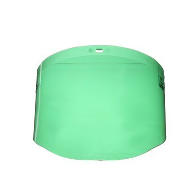 Face Shields 3M 82702-00000 Dark Green Polycarbonate Faceshield Wp96 82702 Molded