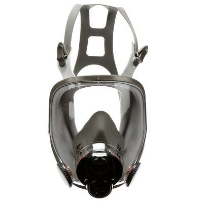 Fullface Respirators 3M 6700DIN Full Facepiece Reusable Respirator (Small)