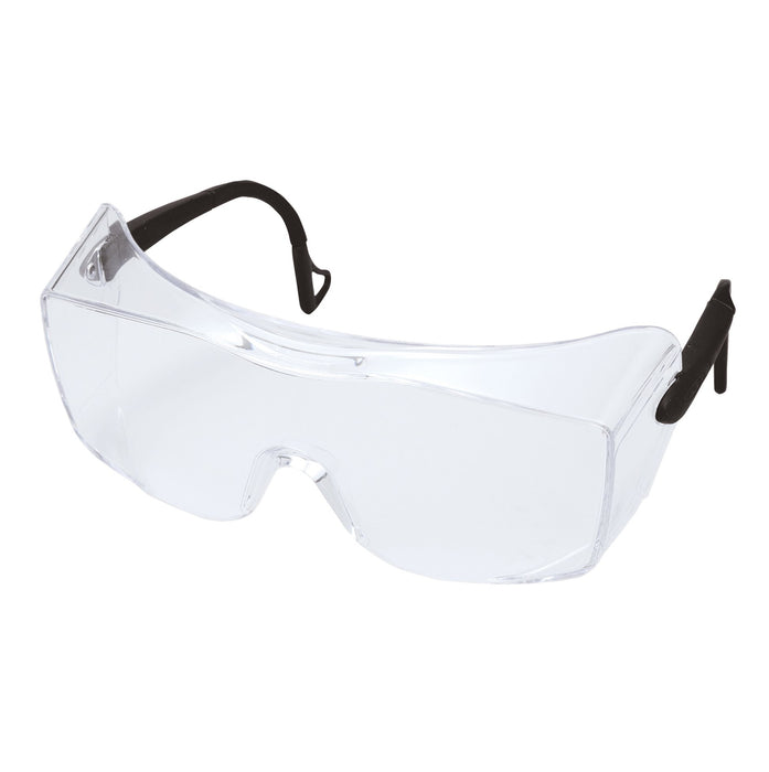 Glasses 3M 12166-00000-20 Ox Protective Eyewear 2000 1216 Clear Anti-Fog Lens Black Temple