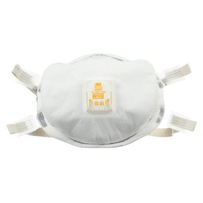 Disposable Respirators 3M 8233 N100 Particulate Respirator Filter Facemask 8233
