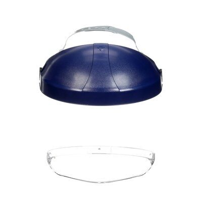 Headgear 3M 82521-10000 Ratchet Headgear With Clear Chin Protector Hcp8 82521 Clear