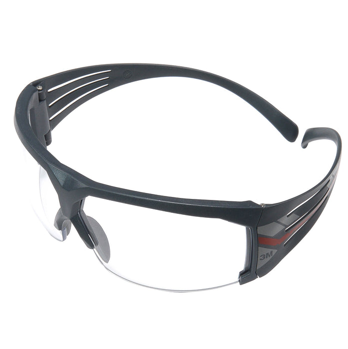 Safety Glasses 3M SF601RAS Securefit Protective Eyewear Clear Rugged Anti-Scratch Lens