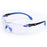 Glasses 3M S1107SGAF Solus Protective Eyewear With indoor/Outdoor Grey Scotchgard Anti-Fog Lens Black/Blue