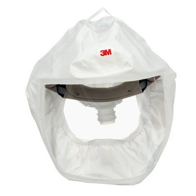 Powered Respirators & Parts 3M S-133L-5 Versaflo HeaDiscover With integrated Head Suspension White Medium/Large
