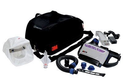 Powered Respirators & Parts 3M TR-600-HKL Versaflo HeaDiscover Powererd Air Purifying Respirator Kit Medium/Large