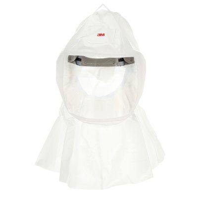 Powered Respirators & Parts 3M S-433S-5 Versaflo Hood With integrated Head Suspension White Small/Medium