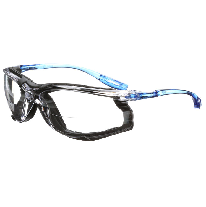 Glasses 3M VC225AF Virtua Cord Control System Protective Eyewear Clear Anti-Fog Lens +2.5 Dioptre