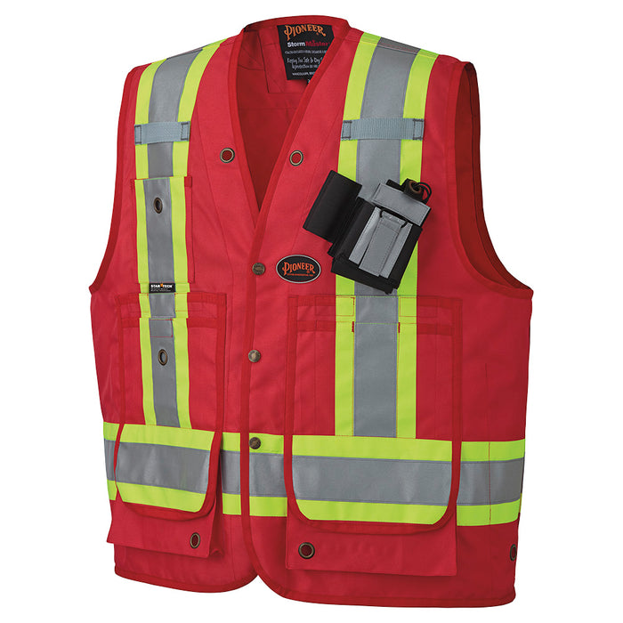 Vests Pioneer V1010510-5XL Csa Surveyor'S / Supervisor'S Vest